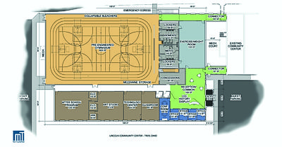 Lincoln Community Center Explansion Floor Plan