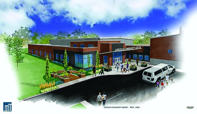 Licoln Community Center Expansion Rendering
