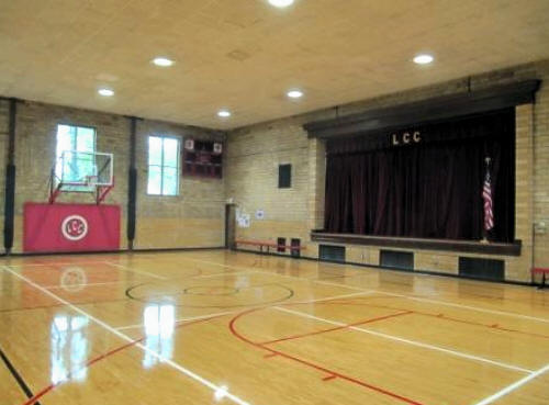 Gymnasium of Lincoln Community Center